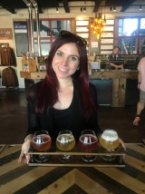 Me and My Beer Flight - Diana Gebbia Photo